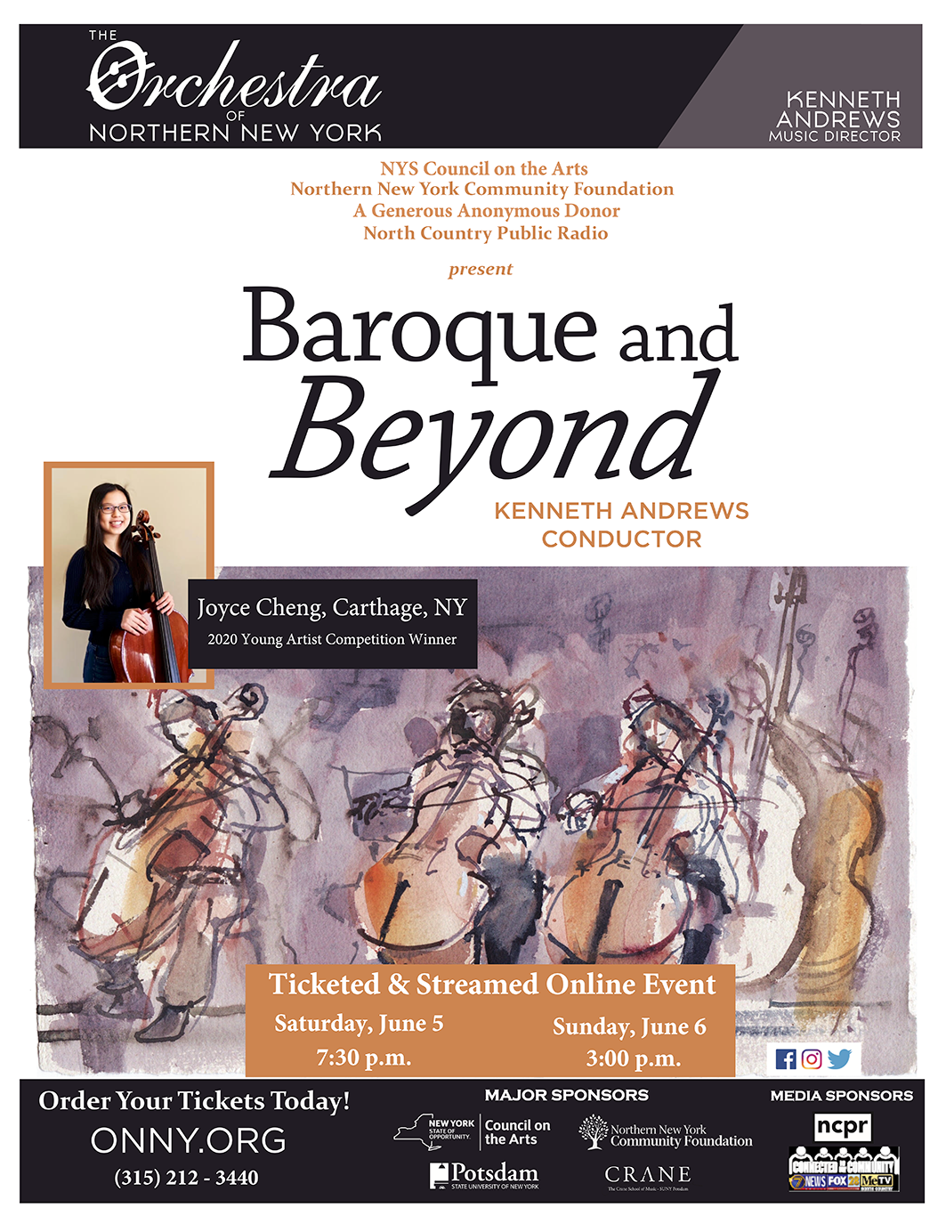 Baroque and Beyond Poster